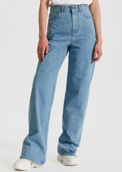 Голубые джинсы Miss Sixty с высокой посадкой, фото
