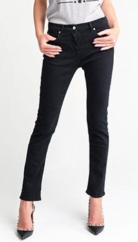 Прямые джинсы Valentino черного цвета, фото