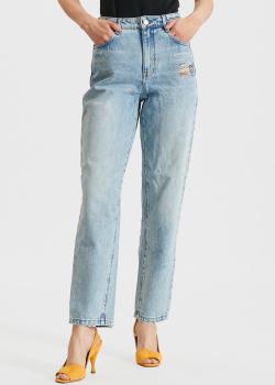 Голубые джинсы Miss Sixty с принтом, фото