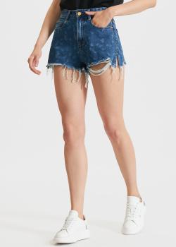 Джинсовые шорты Miss Sixty с разрезами, фото