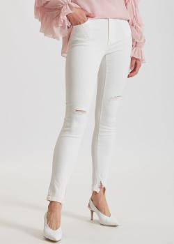 Белые джинсы Miss Sixty с рваным эффектом, фото