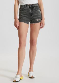 Джинсовые шорты Miss Sixty с потертостями, фото