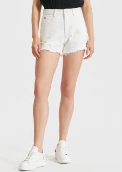 Джинсовые шорты Miss Sixty с бахромой, фото