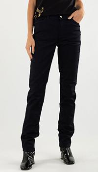 Прямые джинсы Emporio Armani черного цвета, фото