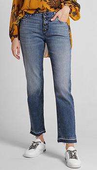 Укороченые джинсы Dorothee Schumacher с бахромой, фото