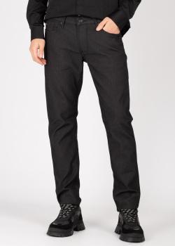 Черные джинсы Emporio Armani зауженного кроя, фото