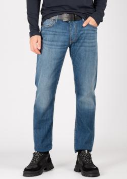 Мужские джинсы Emporio Armani синего цвета, фото