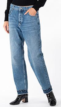 Прямые джинсы Patrizia Pepe с высокой талией, фото