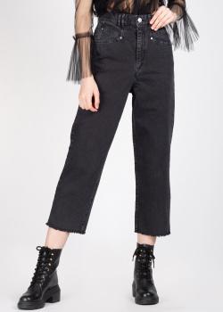 Черные джинсы Isabel Marant с необработанным краем, фото