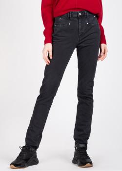 Джинсы-скинни Isabel Marant черного цвета, фото