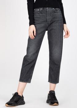 Черные джинсы Rag & Bone с потертостями, фото