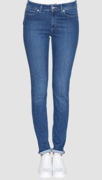 Синие джинсы Bogner с вертикальной строчкой, фото