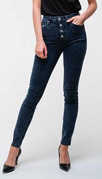 Джинсы-скинни Calvin Klein с высокой талией, фото