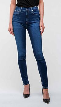 Джинсы Calvin Klein с брендированными пуговками, фото