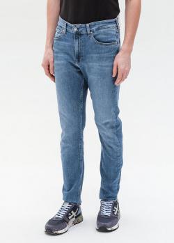 Джинсы Calvin Klein темно-синего цвета, фото