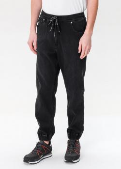 Черные джинсы Calvin Klein с манжетами, фото
