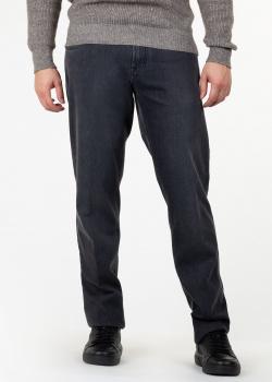 Черные джинсы Scissor Scriptor прямого кроя, фото