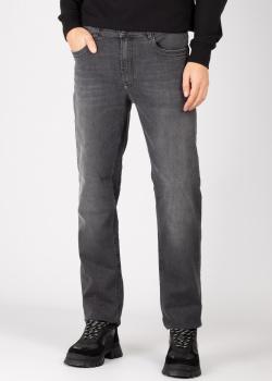 Прямые джинсы Bikkembergs темно-серого цвета, фото