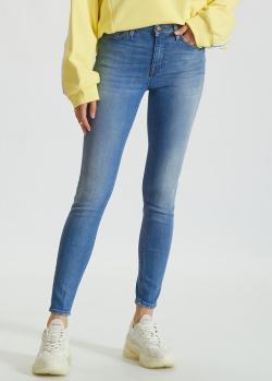Зауженные джинсы Don The Fuller голубого цвета, фото