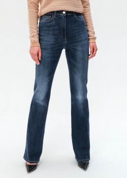 Расклешенные джинсы Elisabetta Franchi синего цвета, фото