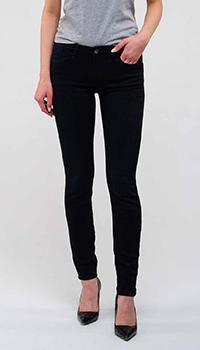 Джинсы-скинни Emporio Armani черного цвета, фото