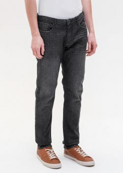 Серые джинсы Emporio Armani прямого кроя, фото