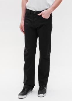 Черные джинсы Emporio Armani прямого кроя, фото