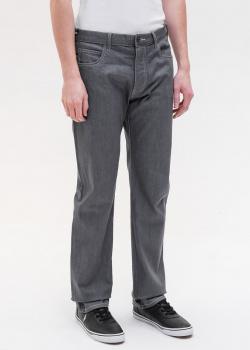 Серые джинсы Emporio Armani с контрастной строчкой, фото