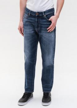 Синие джинсы Emporio Armani свободного кроя, фото