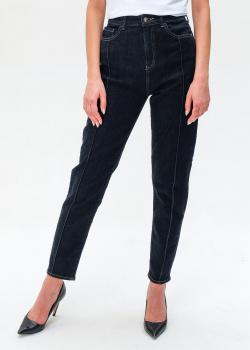 Темно-синие джинсы Emporio Armani со строчкой, фото