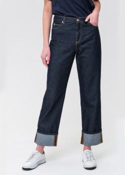 Широкие джинсы Ermanno Ermanno Scervino синего цвета, фото