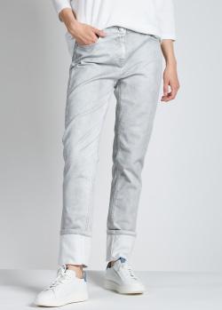 Серые джинсы Fabiana Filippi с низкой посадкой, фото