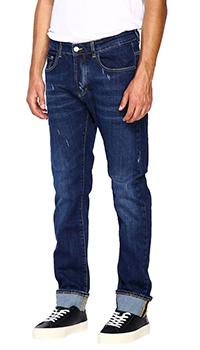 Мужские джинсы Frankie Morello с потертостями, фото