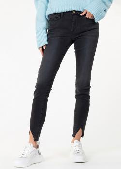 Черные джинсы Denim с разрезами, фото