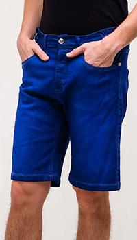 Джинсовые шорты Frankie Morello с эластичными вставками на поясе, фото