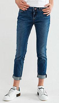 Укороченные джинсы Dolce&Gabbana с подворотом, фото