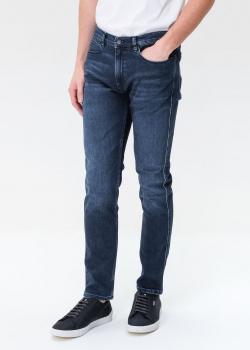 Синие джинсы Hugo Boss Hugo зауженного кроя, фото