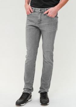 Джинсы-скинни Hugo Boss серого цвета, фото