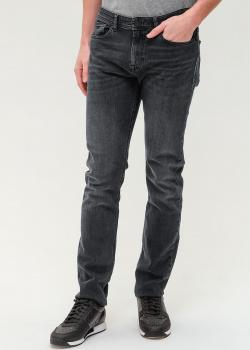 Прямые джинсы Hugo Boss серого цвета, фото