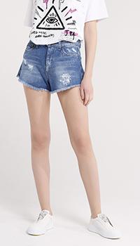 Шорты джинсовые J.B4 Just Before синего цвета, фото
