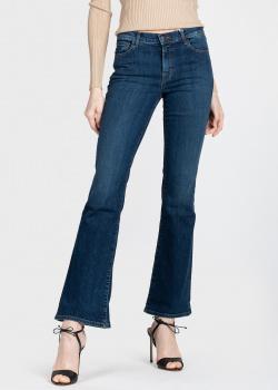 Расклешенные джинсы J Brand темно-синего цвета, фото