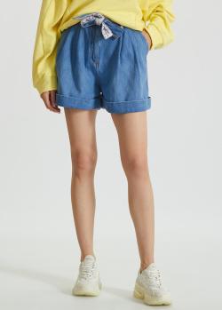 Джинсовые шорты Ermanno Scervino синего цвета, фото