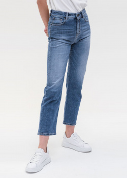 Синие джинсы Max Mara Weekend с высокой посадкой, фото