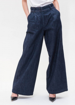 Широкие джинсы Max Mara Weekend с защипами, фото