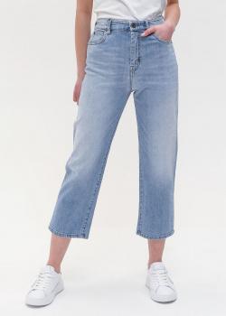 Укороченные джинсы Max Mara Weekend голубого цвета, фото