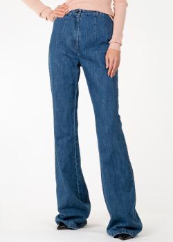 Расклешенные джинсы Michael Kors синего цвета, фото