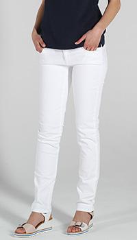 Белые узкие джинсы Trussardi Jeans, фото