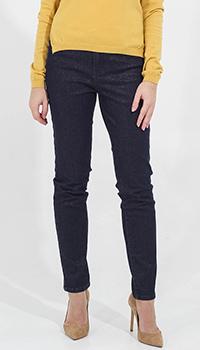 Узкие джинсы Twin-Set с золотистым блеском, фото