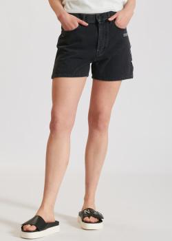 Джинсовые шорты Off-White с разрезами, фото