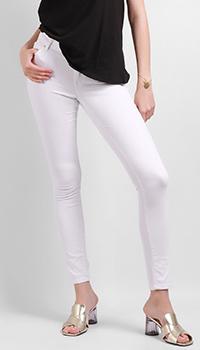 Джинсы-скинни Silvian Heach белые, фото